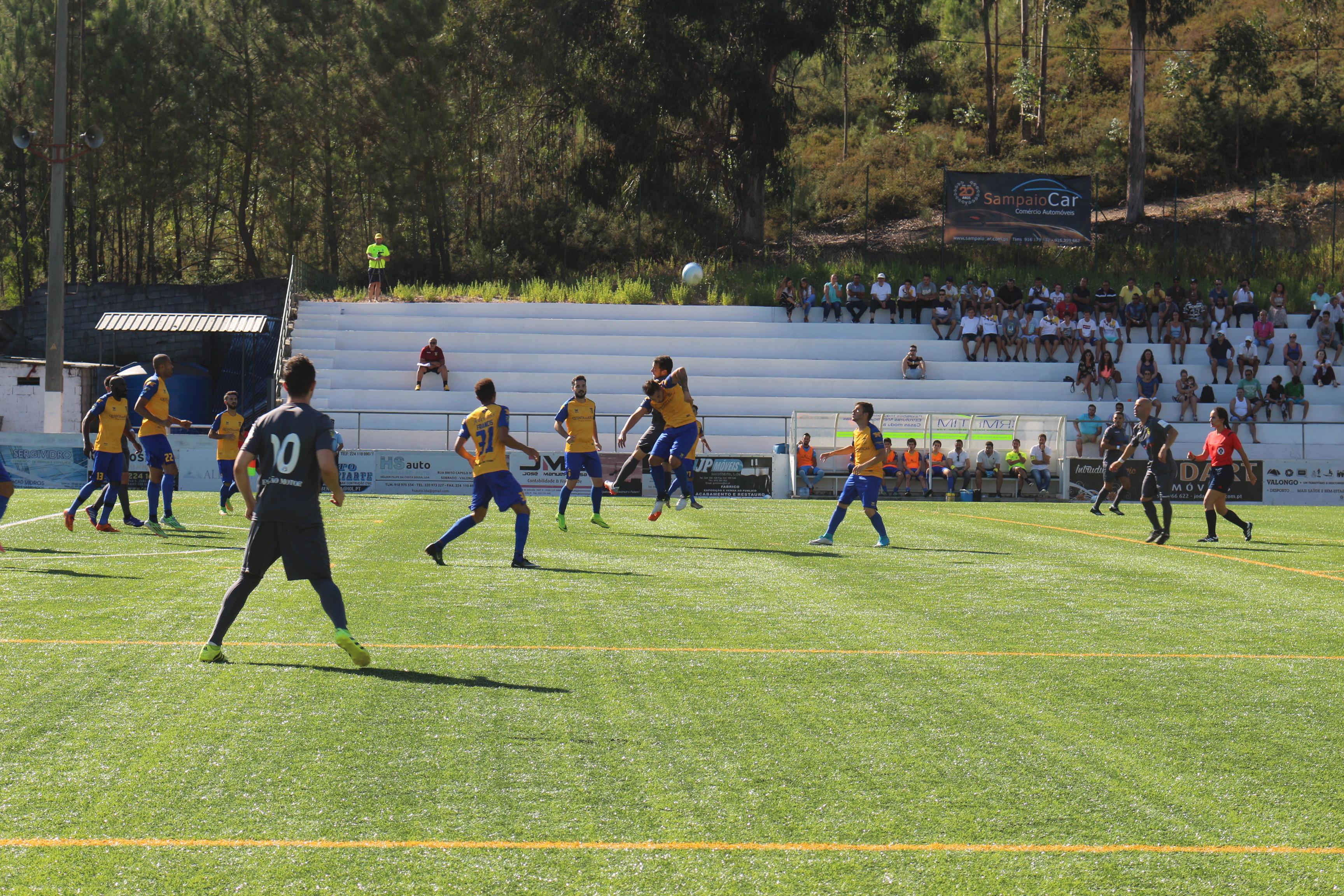 CD Sobrado 0 - 0 SC Rio Tinto