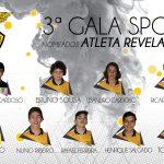 3ª Gala Sport: Nomeados para Atleta Revelação