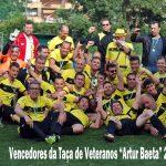 Veteranos conquistam Taça Artur Baeta
